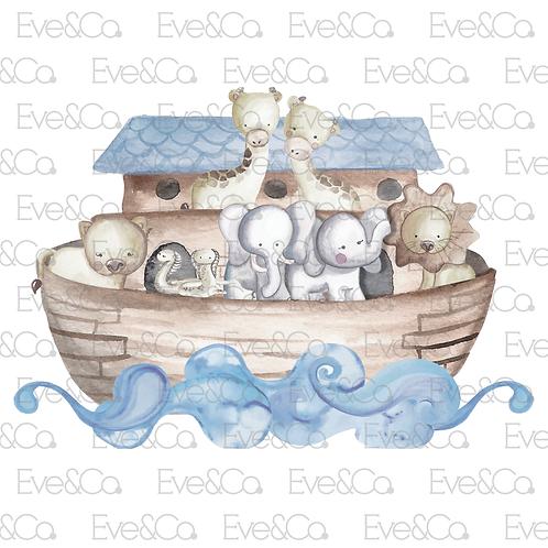 Noah's Ark Large Cutout