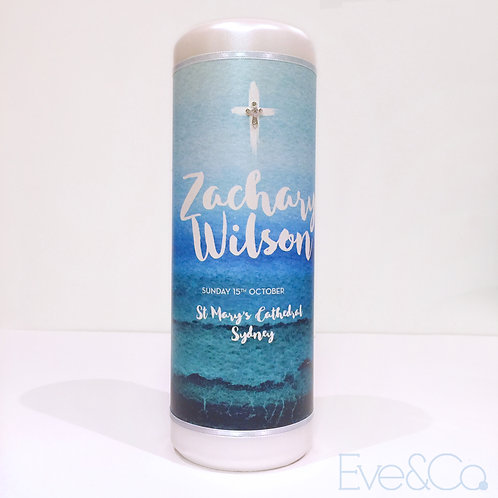 Ocean Blue Candle