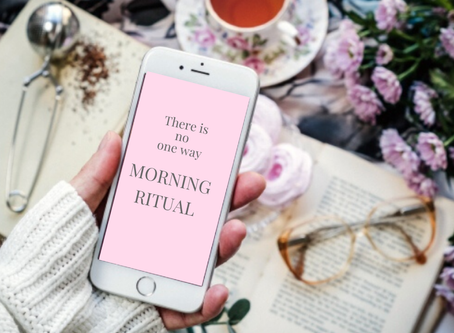 Morning Ritual / Aligned with who you really are