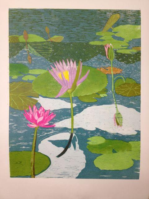 Lily reflections progress 8