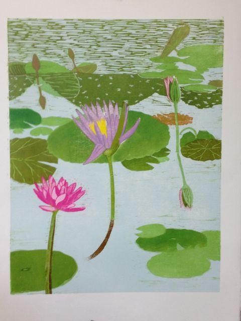 Lily reflections progress 7