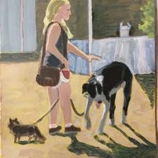 Untitled - Newberg Farmer's Market 2 dogs