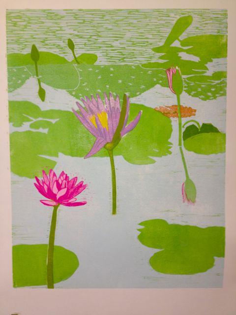 Lily reflections progress 5