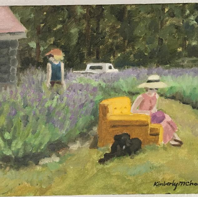 Black Gold Pink Lavender