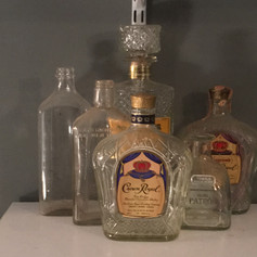 Assorted Glass Bottles | $5