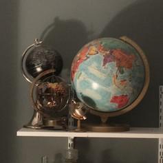 Set of Globes | $15