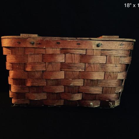 Antique Picnic Basket | $5