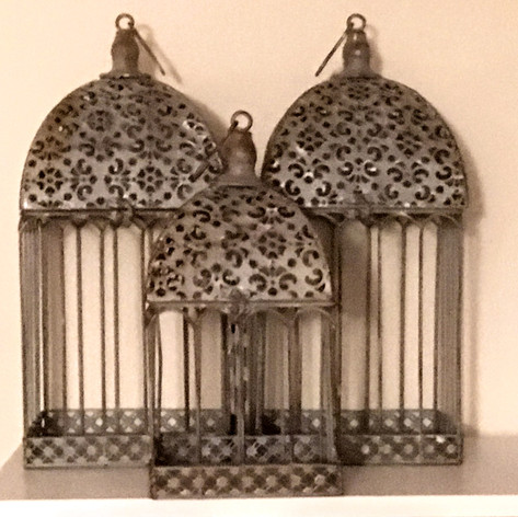 Silver Bird Cages | $4