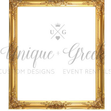 Gold Detailed Wall Frame | $25