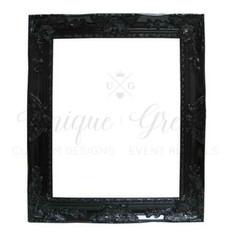 Black Detailed Wall Frame | $20