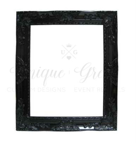 Black Detailed Wall Frame | $20