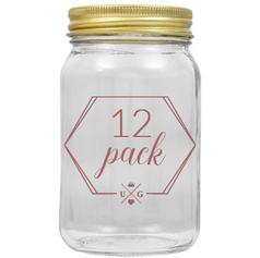 Quart Mason Jars | $12