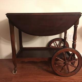 Antique Tea Cart | $45