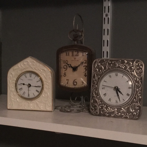 Small Clock Collection | $5