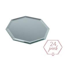 Octagon Mirror Plate | $24