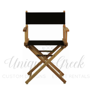 Matching Director Chairs | $50