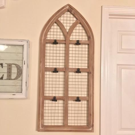 Church Window Display   $15