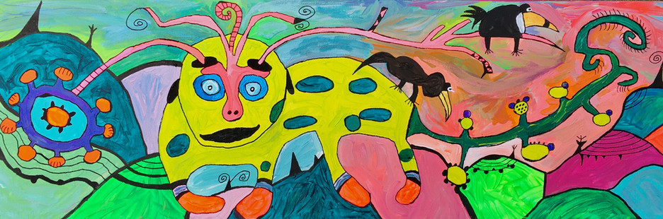 Cataclysmic Caterpillar Rummages through the Gumdrop Valley