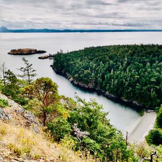 1 Mile at Watmough Bay, Lopez Island, WA
