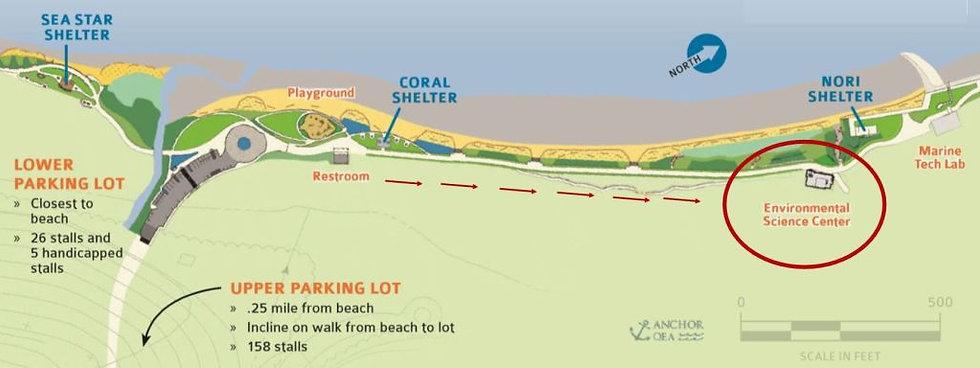2018-Seahurst-Park-Map-to-ESC-with-arrow