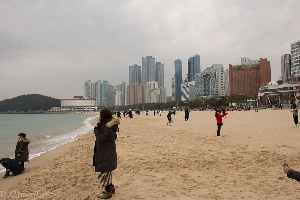 Busan  plage Haeundae
