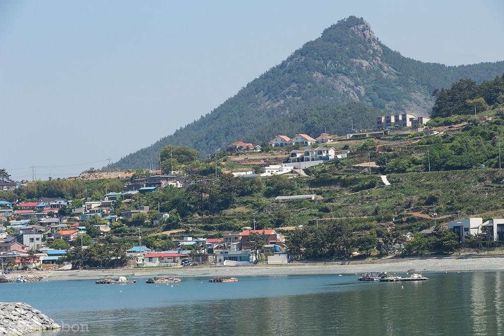 Ile de Namhae Corée su Sud