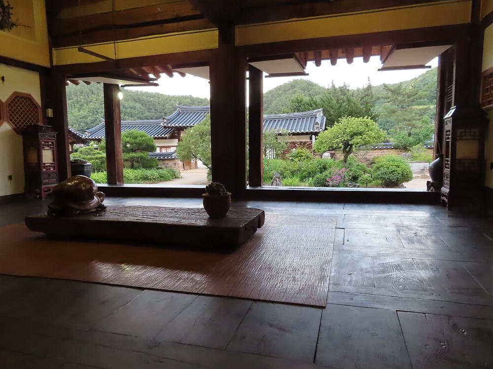 Village Cheongsong Corée du Sud