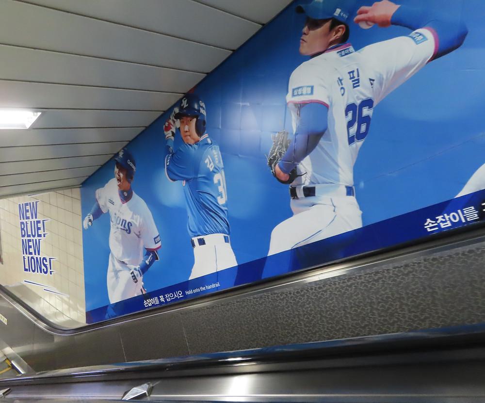 Daegu Samsung Lions baseball