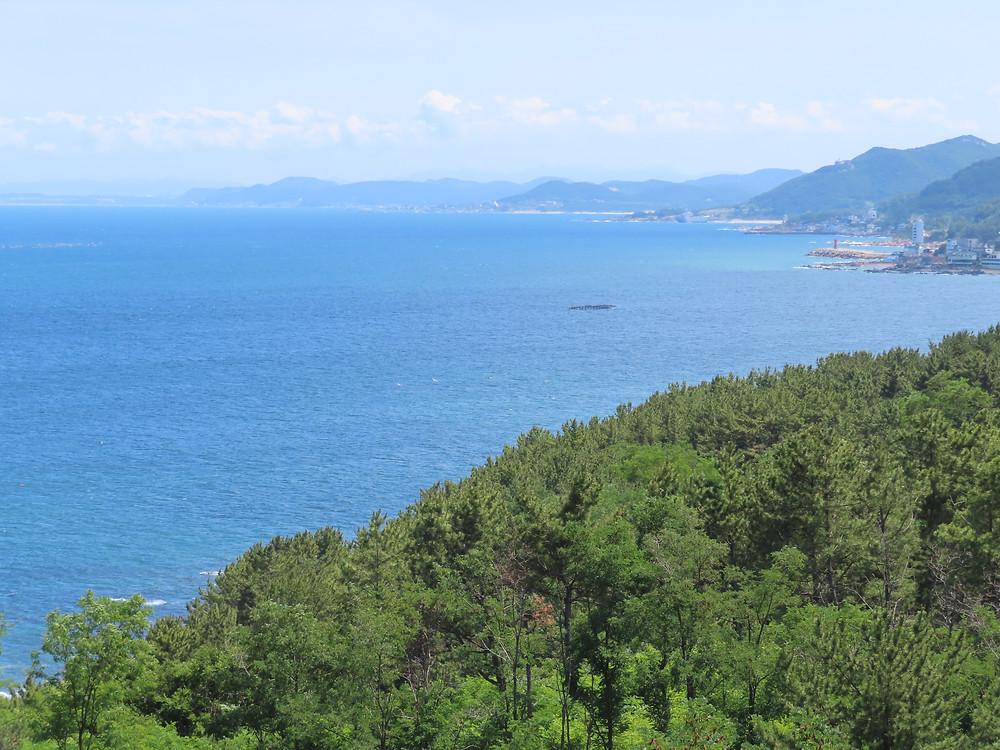 Corée du Sud Blue Road