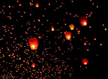 Sky Wish Lantern, soirée magique