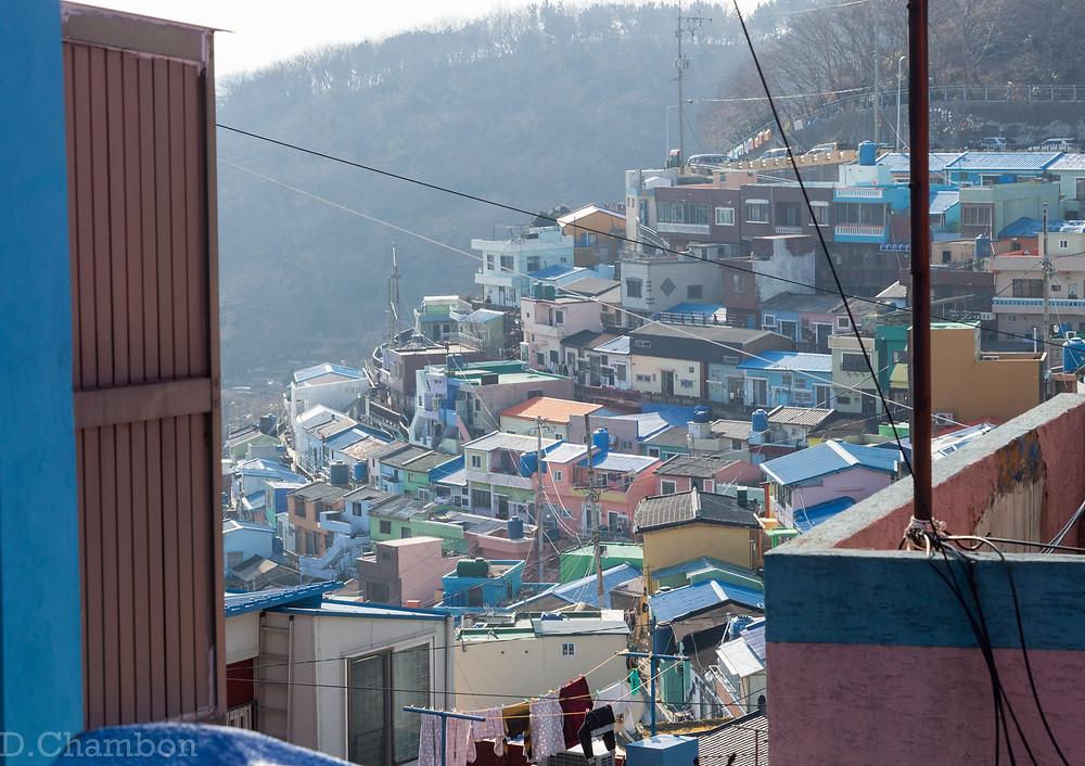 Busan Gamcheon village
