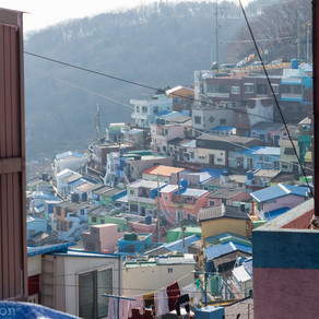 Busan, sympathique Gamcheon Village