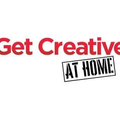 #GetCreativeAtHome