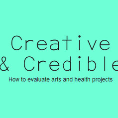 An Introduction to Arts, Health and Wellbeing Evaluation
