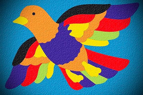 Lauri's Crepe Rubber Bird Puzzle