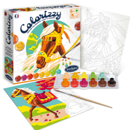 Colorizzy Paint By Number -Horses