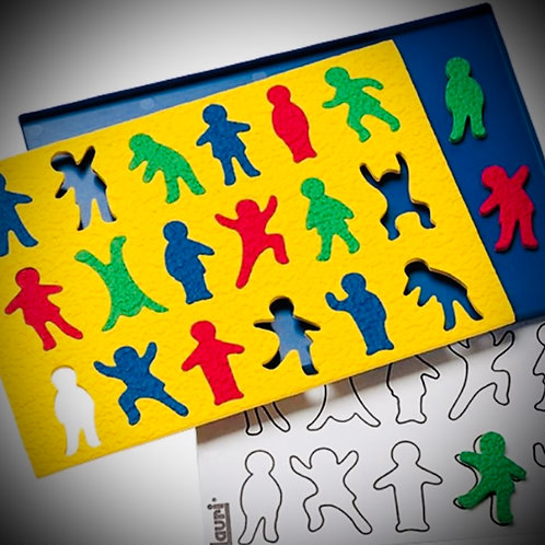 Lauri's Crepe Rubber People Puzzle
