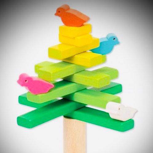 Wooden Balancing Bird and Tree Game