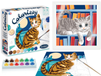 Colorizzy Paint By Number - Cats