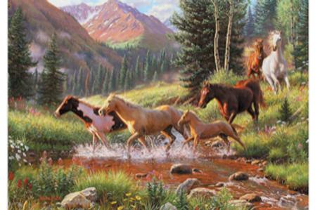 Horse Stream Tray Puzzle