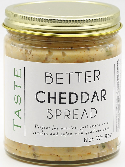 Better Cheddar Spread