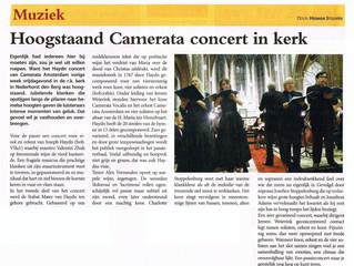 Mooie recensie Stabat Mater Haydn met Camerata Amsterdam
