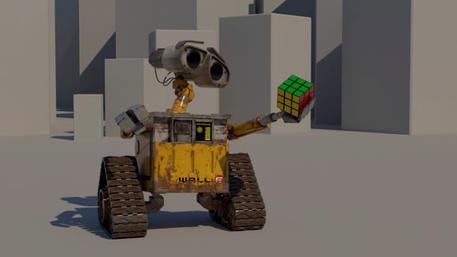 Wall-E & Rubik