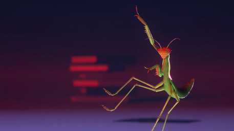 Mantis Dance