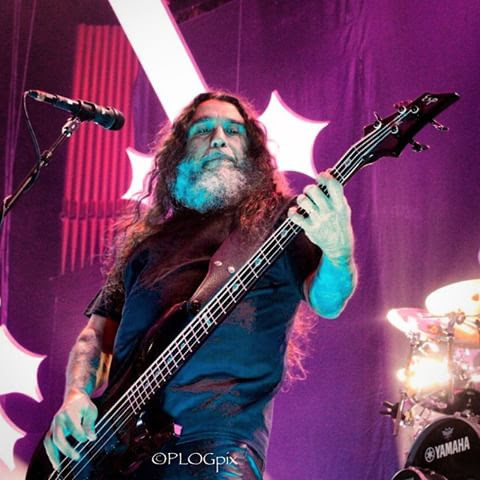 Tom Araya - Slayer  photo by: Leslie Rogers