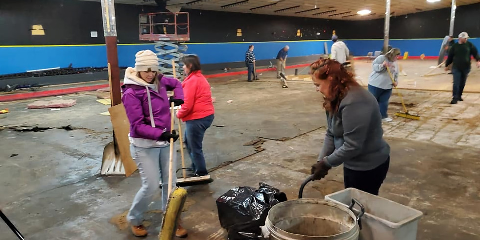 Community Center Clean Up