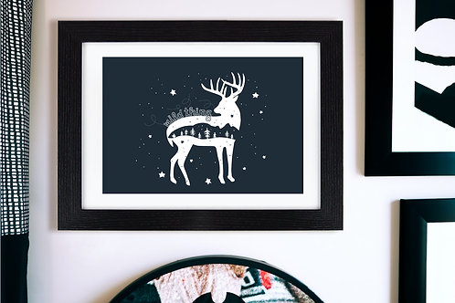 Wild Thing Midnight Wall Art - Roccoco Home