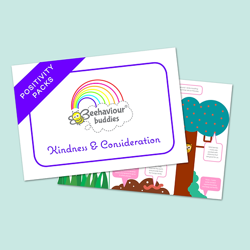 Linnie's Positivity Pack - Kindness & Consideration
