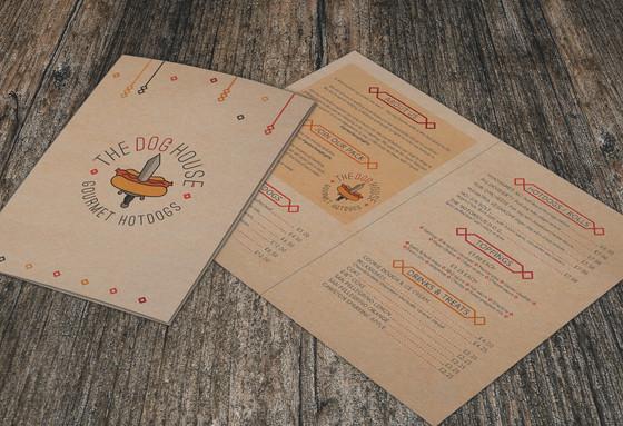 Dog House menu