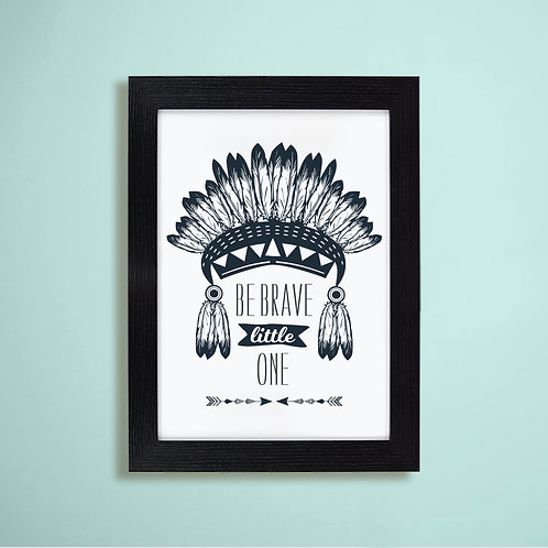 Be Brave Wall Art - Roccoco Home